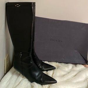 Prada long boots